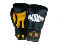MadMax Training boxing gloves (black / yellow)