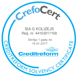 GFITNESS AWARDED WITH CrefoCert CERTIFICATE