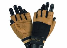 MAD MAX Fitness Gloves CLASSIC (brown / black)