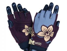 MAD MAX Fitness Gloves New Age, (Violet / Sand )