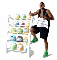 New Medicine Ball Rack (20 Balls)